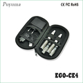 充電式電子シーシャ水ギセルタバコエゴ- tce4黒い色でペンスターターパック