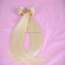 Top quality cheap virgin remy hair bundle can dye any colour