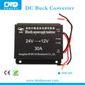 de buena calidad a dc24v dc12v 30a paso de down converter