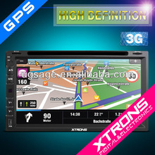 "TD697G - 6.95"" Touch Screen dynamic UI multimedia GPS 3G Virtual CDC Car PC"