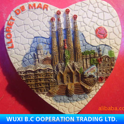 Customised pretty soft pvc fridge magnet import cheap goods from china