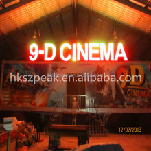 Hot hydraulic 5d cinema 5d theatre mobile 3d 4d 5d 6d 7d cinema for sale