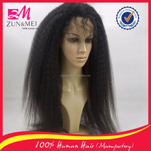 Hot new products grade 6A lace wig unprocessed 100% virgin human hair full lace wig