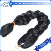 2015 Popular Smooth and Soft Kanekalon Ultra X-pression Synthetic Braids Super X Braid Hair