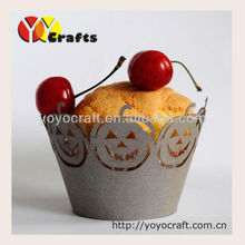 popular use halloween party silver cupcake wrappers supply