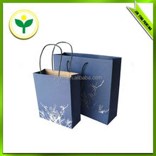 small flower picture printed shopping bag