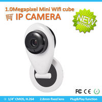 Low Cost HD H.264 720P Wireless Security IP Camera