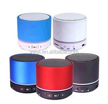 (Low Price) Super Bass Bluetooth Speaker S11 with LED Light, Stereo S11 Mini Speaker Support TF Card FM, Portable Speaker S11