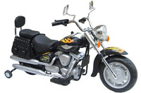 Recharegable Power wheel 12V battery operated ride on motorcycle for kids YH-8803 BLK