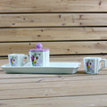neue tulpe design keramik kaffeeservice tassen mit schale dolomit tassen