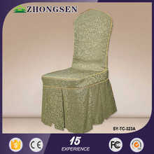 Fashion design satin chair cover sash china manufacturer supplier