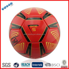 wholesale PVC machine stitched nice soccer pro ball