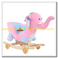 Ride on animal toy small baby plush sofa chair