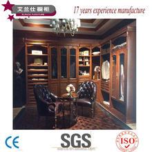 luxury look wood venneer wardrobe