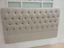 French Bedroom Furniture Antique Wooden Frame Queen Size Bed Headboard