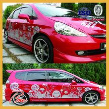 Custom full car body wrap sticker design vinyl printing
