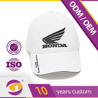 Guangzhou high quality golf baseball cap custom 100 cotton fabric