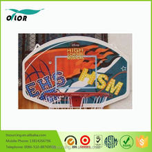 2015 high quality lowest price basketball board with red rim for sale