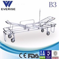 Non emergency ambulance patient transport belts/checklist