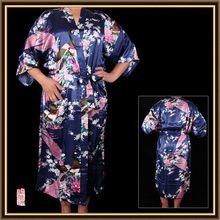 Good quality promotional eco-friendly satin kimono robe fabric