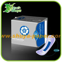 Lady anion sanitary pads sanitary towel manufacturers