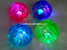 led light up bouncing ball, pure color