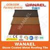 Shake Wanael stone coated metal roof sheet/roof building material price/zinc roof sheet price, guzhou china supplier