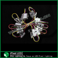 DC12V 4pcs RGB led module pixel led lights moudle pixel