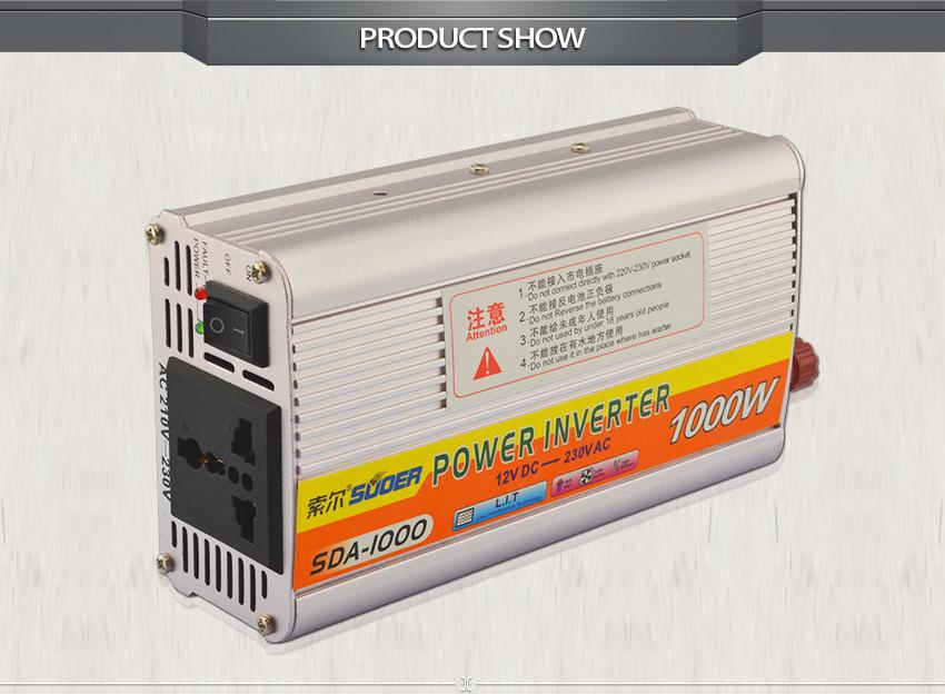 Hot sale inverter điện năng lượng 1000 wát chất lượng cao inverter modified sin 12 V năng lượng cho 220 V với CE RoHS