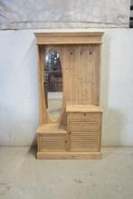 Modern design reclaimed wood bedroom cabinet, dressing cabinet, shoes cabinet, clothes cupboard