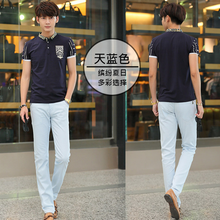Wholesale trendy deisgn men casual pants innovative design stright business men pants