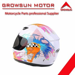 Cheap hot full face motorcycle helmet GS-07B Feather