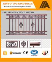 Stonger and becautiful Aluminum balcony railing designs AJLY-806