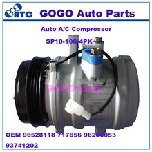GOGO SP10 Auto A/C Compressor for Daewoo Matiz OEM 96528118 717656 96256053 93741202