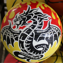 "Modern hot sell rubber basketball 6"" 7"" 8"" hot sale"