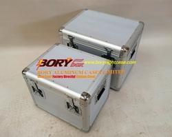S, M, L type multifunction big storage case custom aluminum boxes