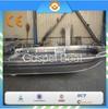 2015 fishing boat high quality 3.65m All-welded aluminum boat
