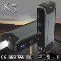 emergency kit 12v car jump starter power bank booster