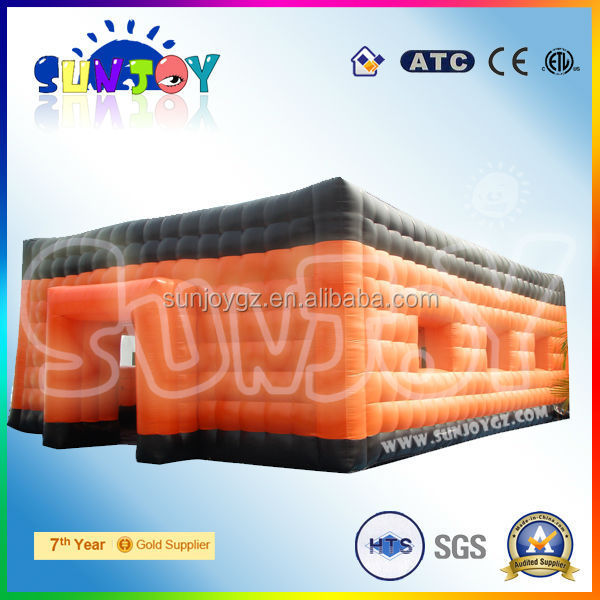 Superior giant sewed outdoor party event inflatable tent for sale