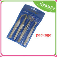fashion small eyebrow tweezers ,H0T025, surgical stainless steel tweezers