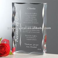 Wedding Anniversary Valentines Crystal Gifts Souvenirs
