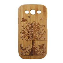 New products for 2015 Natural Wood Mobile Phone Case for samsung galaxy s3 Wood Cover
