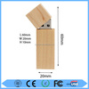 Custom design bulk wood usb flash drive with low price