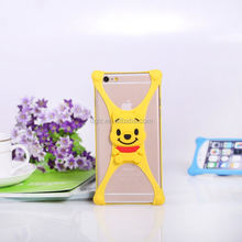 manufacturer colorful hard leather bumper case for nokia with high quality
