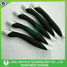 Custom Novelty Cheap Rubber Grip Fat Pen For Promotion