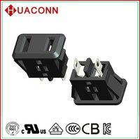 Hc-f-m4 2015 top sell ac power socket female