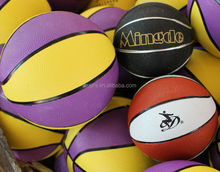 Durable antique brown basketball