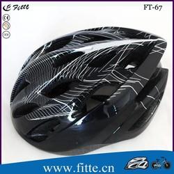 2015 New style in mold eps foam light outdoor helmet
