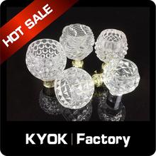 KYOK new designs dual curtain rod wholesale , double curtain rod price ,elegant curtain rod