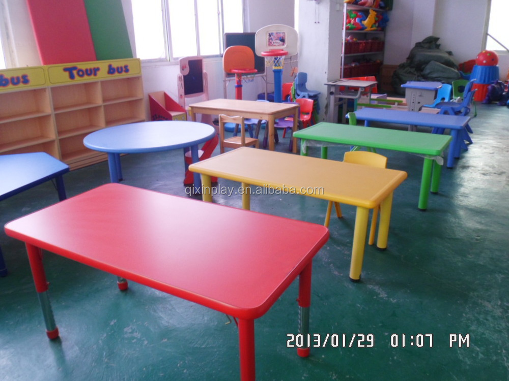 2016 Guangzhou Cheap Preschool Furniture Kindergarten Furniture Tables And